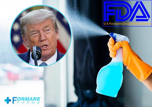 FDA desminte tratamentele recomandate in mod controversat de presedintele Donald Trump