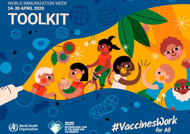 Saptamana Mondiala a Imunizarii (24 – 30 Aprilie 2020)